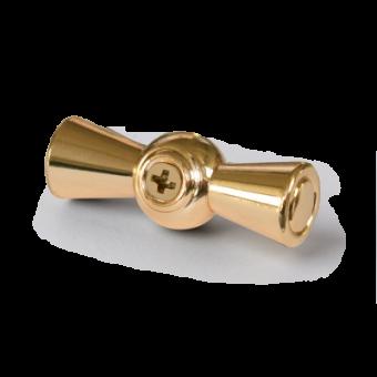 WL18-20-01 Ручка  выключателя 2 шт. (золото) Ретро Favorit Runda Werkel a038394