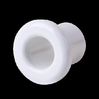 WL18-18-01 Втулка для вывода кабеля из стены 2 шт. (белый) Ретро Favorit Runda Werkel a036800