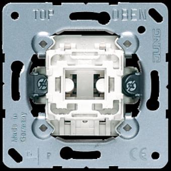 502-20KOU Переключатель 1-клавишный возм контрольной подсветки, с N-клеммой 20А Jung