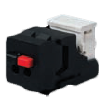 FD-310ST-M Разъем для подключения динамиков, цвет Черный FEDE