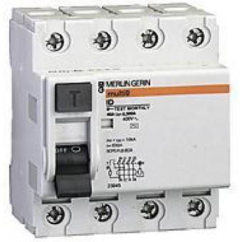 16752 Дифф.выключатель нагрузки ID 4п 40A 30mA B-тип , Schneider Electric