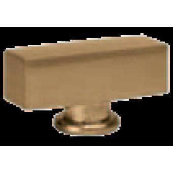 FD02311PB Поворотный выключатель прямоугольный, цвет Bright Patina FEDE