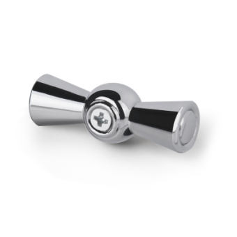 WL18-20-01 Ручка  выключателя 2 шт. (хром) Ретро Favorit Runda Werkel a037214