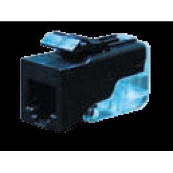 FD-T3-B Розетка телефонная 6-ти контактная для коннектора RJ-11 CAT3, цвет Белый FEDE