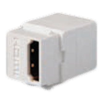 FD-210HD Разъем HDMI, контакты с золотым напылением, цвет Белый FEDE