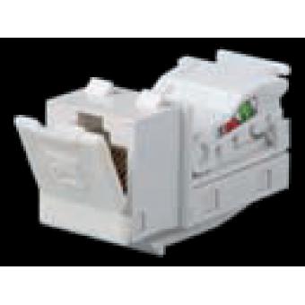 FD-T5-B Разъем компьютерный RJ45 cat.5e cat.5E Tool-Free, цвет Белый FEDE