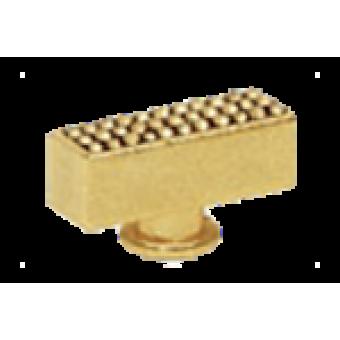 FD02313OR Поворотный выключатель прямоугольный CRYSTAL DE LUX, цвет Real Gold FEDE
