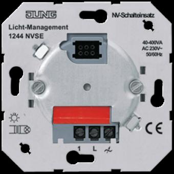 1244NVSE Электронный выключатель 40-400 Вт/ВА для л/н и обмоточных трансформаторов Jung