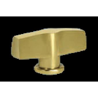 FD02312OB Поворотный выключатель модерн, цвет Bright Gold FEDE