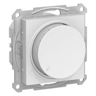 ATN000134 Atlasdesign Светорегулятор (диммер) поворотно-нажимной, 315Вт, мех., Белый Schneider Electric