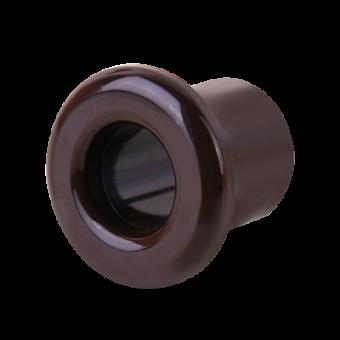 WL18-18-01 Втулка для вывода кабеля из стены 2 шт. (коричневый) Ретро Favorit Runda Werkel a036805