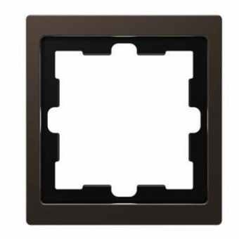 M4010-6552 Рамка D-Life Мокко 1-постовая Merten