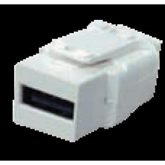 FD-210USB Разъем 2.0. USB type A, цвет Белый FEDE