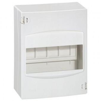 001306 Щиток накладной Mini S - 6 модулей - белый RAL 9010 Practibox Legrand