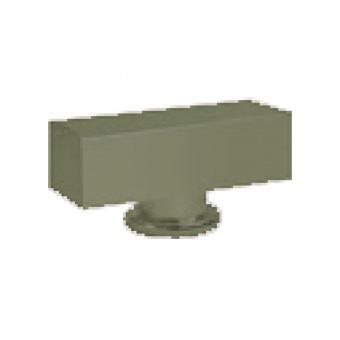 FD02311GO Поворотная ручка квадратного типа , цвет green olive FEDE