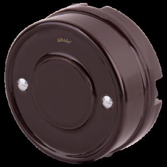 WL18-19-01 Распределительная коробка (коричневый) Ретро Favorit Runda Werkel a036806