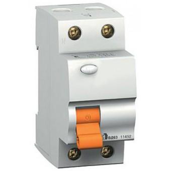 11455 Дифф. выключатель нагрузки вд63 2п 63A 30mA ас, испания , Schneider Electric