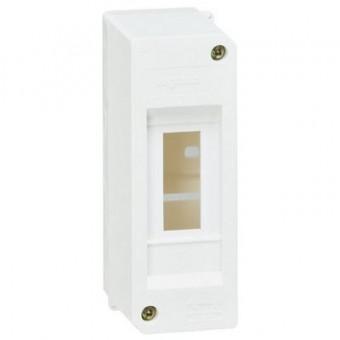 001356 Щиток накладной Mini S - 2 модуля - белый RAL 9010 Practibox Legrand