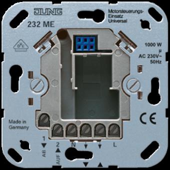 232ME Электронный жалюзийный выключатель универсальный(требуется нейтраль) Jung