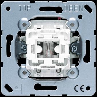 506KOU Переключатель 1-клавишный возм контрольной подсветки, с N-клеммой Jung