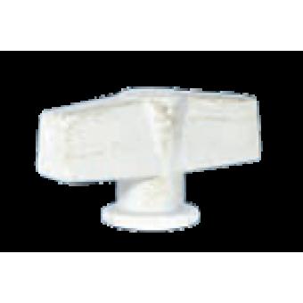 FD02312BD Поворотный выключатель модерн, цвет White Decape FEDE