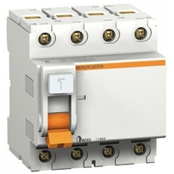 11463 Дифф. выключатель нагрузки вд63 4п 40A 30mA ас, испания , Schneider Electric