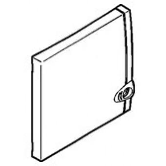 001328 Дверь Д/Щита Ekinoxe 8+1m Бел. Practibox Legrand