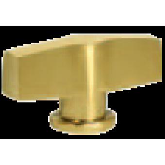 FD02312OR Поворотный выключатель модерн, цвет Real Gold FEDE