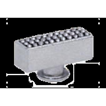 FD02313CB Поворотный выключатель прямоугольный CRYSTAL DE LUX, цвет Bright Chrome FEDE