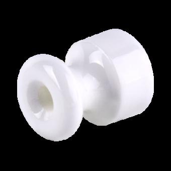 WL18-17-02 Изолятор без винта 50 шт. (белый) Ретро Favorit Runda Werkel a046840