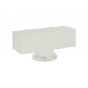 FD02311WH Поворотная ручка квадратного типа , цвет white FEDE